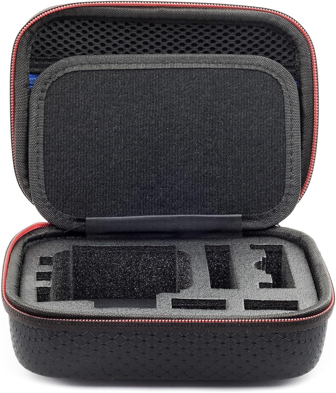 Digicharge/® Kamera Zubeh/ör Tasche f/ür Action Kamera Cam Kleine Gr 17X13X7cm XS Tragetasche f/ür Gopro Hero Hero7 7 Hero6 6 5 4 3 2 Garmin VIRB Apeman Sony Xiaomi Yi Camkong Motorola Akaso Nikon