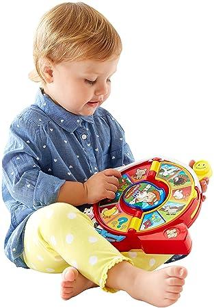 84890c89c Fisher-Price Little People CJC43 Juguete Musical - Juguetes Musicales (1,5  año(s), 5 año(s), Niño/niña,, Batería, AA): Amazon.es: Juguetes y juegos