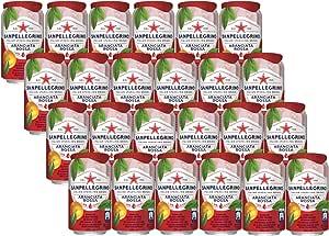 Sanpellegrino Aranciata Rossa ISD (Blood Orange), 24 x 330 ml, Blood Orange