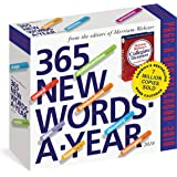 365 New Words-A-Year Page-A-Day Calendar 2018