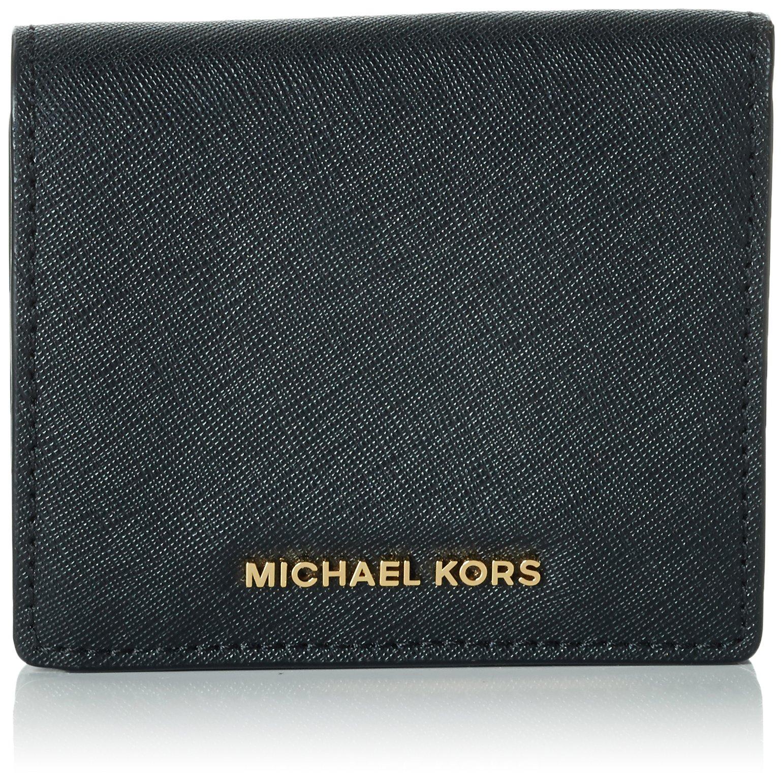 MICHAEL Michael Kors Women's Jet Set Carry All Card Case, Black, One Size by MICHAEL Michael Kors