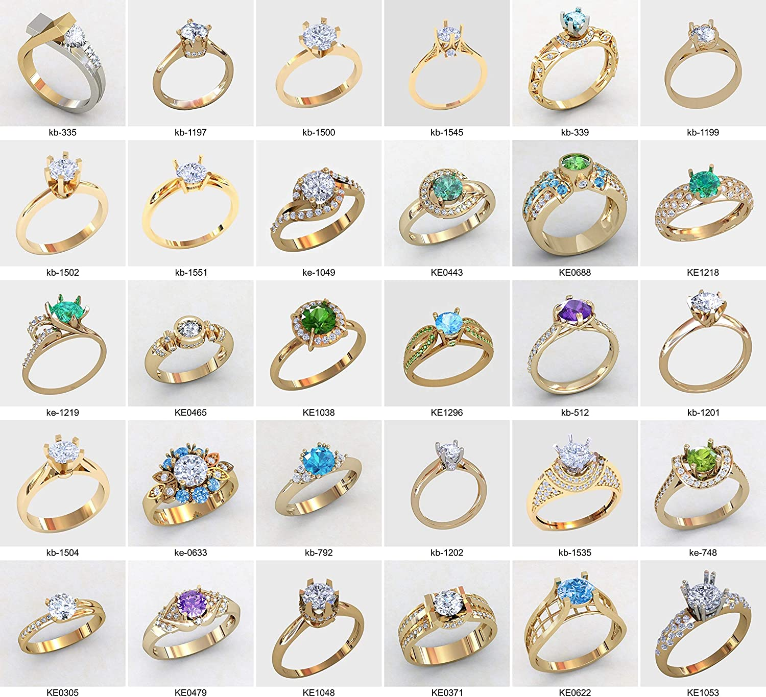 5 pcs Ladie/'s  ring Wax patterns for lost wax casting jewelry #a/_60704