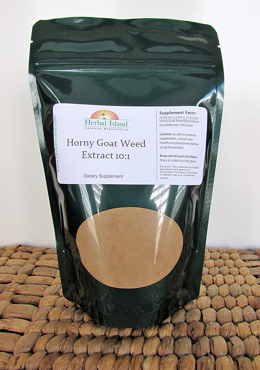 1 LB Horny Goat Weed Extract 10 1 Powder Epimedium Grandiflorum with Free Shipping