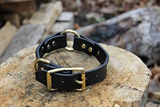 product image for American Bench Craft Leather Dog Collar