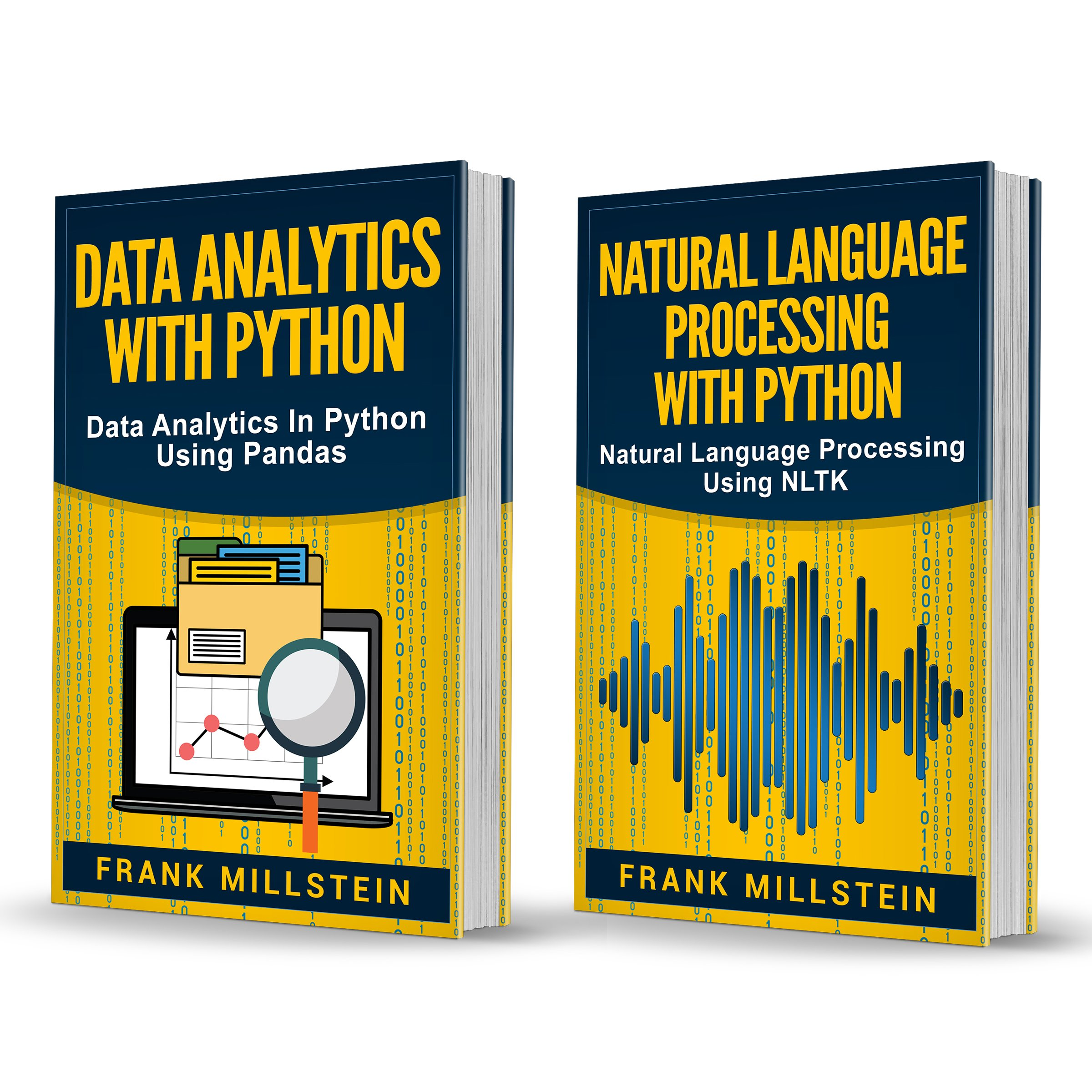 Big Data Analytics: 2 Manuscripts   Data Analytics With Python And Natural Language Processing With Python (English Edition)