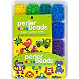 Perler Beads Assorted Fuse Beads Tray for Kids Crafts with Perler Bead Pattern Book, 4001 pcs