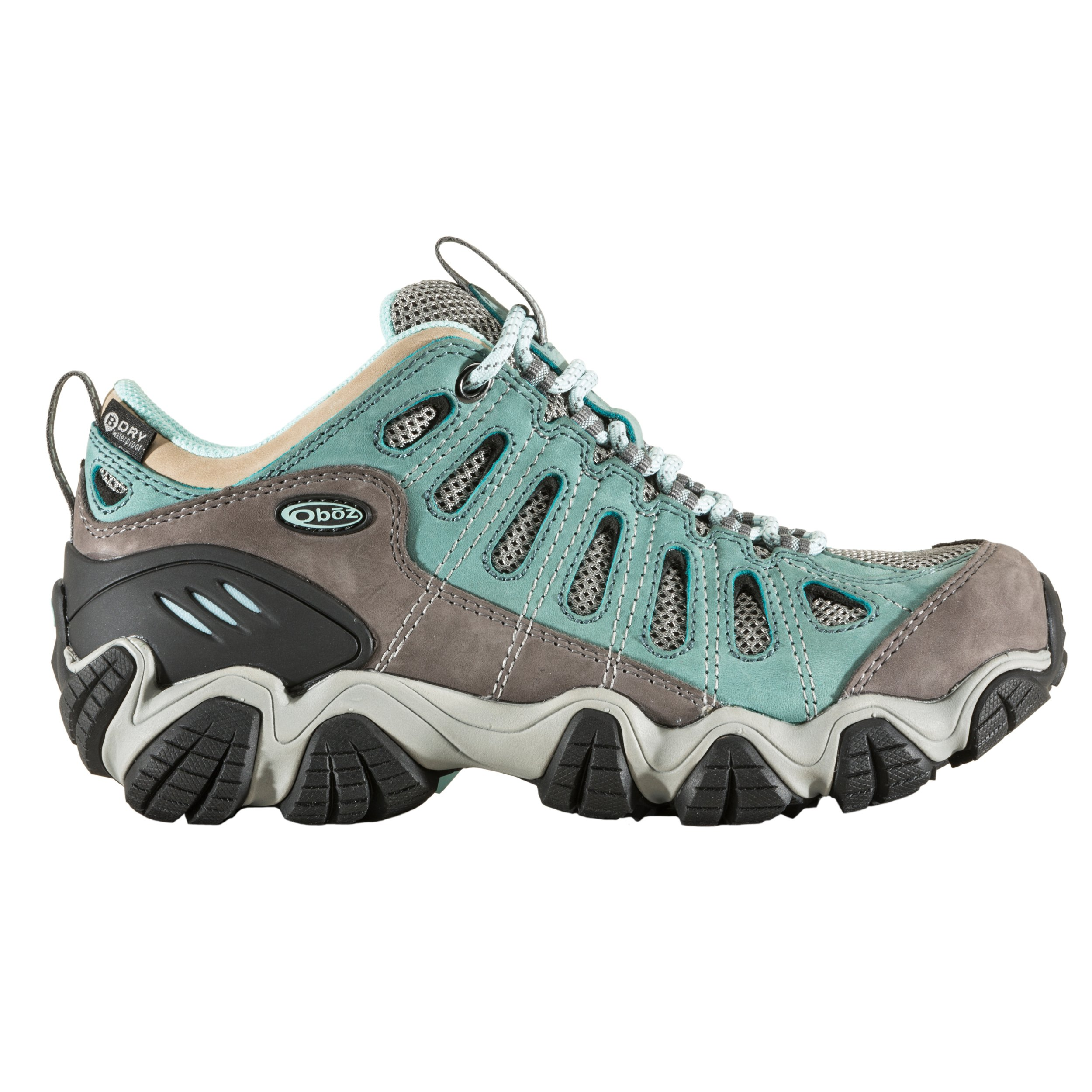 Oboz Sawtooth Low BDry Hiking Shoe - Women's Mineral Blue 8 by Oboz (Image #2)