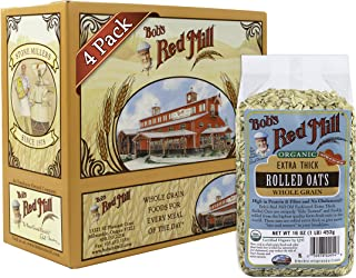 product image for Bob's Red Mill Organic Extra Thick Rolled Oats, 16 Oz (4 Pack)