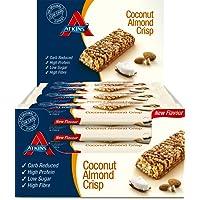 Atkins Coconut Almond Crisp 60g Bar - Pack of 16