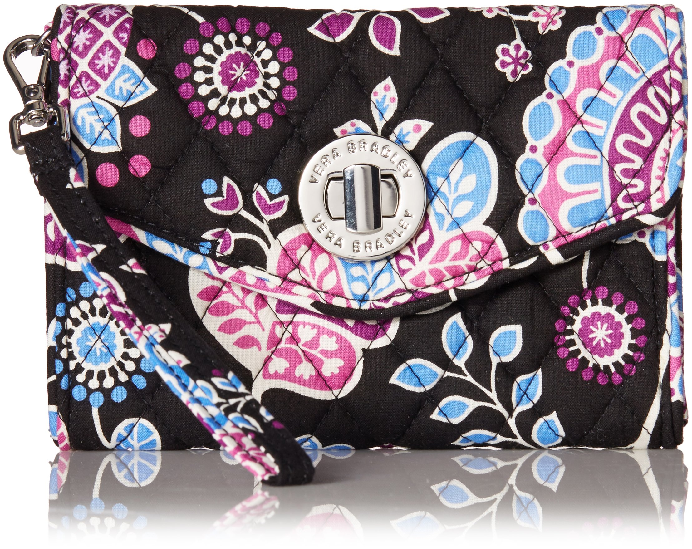 Vera Bradley Your Turn Smartphone Wristlet, Alpine Floral, One Size