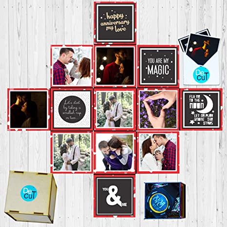 DecuT Unique Birthday Gift Idea For Her Wife Personalized Romantic Tiny Lovin Box Amazonin Office Products