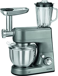 Bomann KM 1373 CB Robot de Cocina multifunción amasadora, picadora de Carne, batidora Vaso