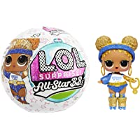 LOL Surprise All-Star Sports Series 4 Summer Games Sparkly Dolls with 8 Surprises, Accessories