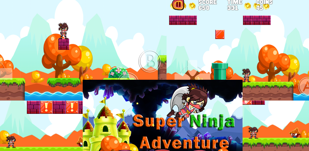 Super Ninja Adventure: Amazon.es: Appstore para Android