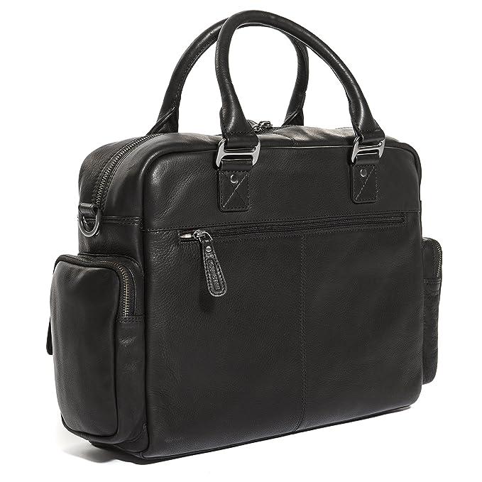 96958c858c970 Solo Pelle Messenger Tasche   Umhängetasche aus echtem Leder Model   Valencia (Oreo Braun)  Amazon.de  Koffer