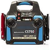 kjub CS750i Powerpack (22Ah) auch bei tiefen Temperaturen, sicher ohne Funken Starthilfe leisten. Auch für Moderne Fahrzeuge mit Airbag und Boardelektronik. Echte 750A und 1.200A Peak.