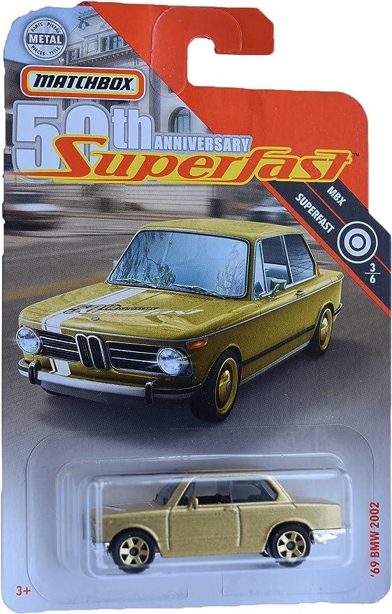 Gold Matchbox 50th Anniversary Superfast 6//6 BMW i8 87//100