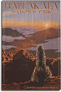 product image for Lantern Press Haleakala National Park - Sunrise (10x15 Wood Wall Sign, Wall Decor Ready to Hang)
