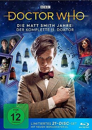 Doctor Who - Die Matt Smith Jahre: Der komplette 11. Doktor LTD. Alemania Blu-ray: Amazon.es: Smith, Matt, Gillan, Karen, Coleman, Jenna, Kingston, Alex, Darvill, Arthur, Tennant, David, Smith, Matt, Gillan, Karen: Cine