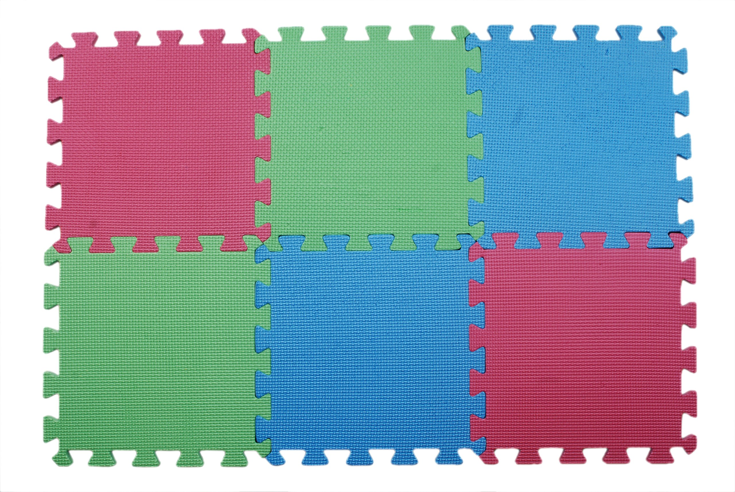 Knit Pro KP10874 | Foam Rubber Lace Blocking Mats | 12 x 12in | 9 pack