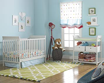 grey nursery furniture. Fisher-Price 6 Piece Nursery Furniture Bundle, Misty Grey