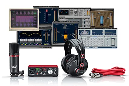 Amazon.com: Focusrite Scarlett solo Studio Bundle + olas ...