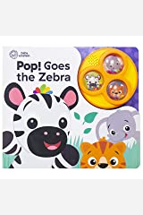 Baby Einstein - Pop! Goes the Zebra - Popping Button Sound Book - PI Kids Board book