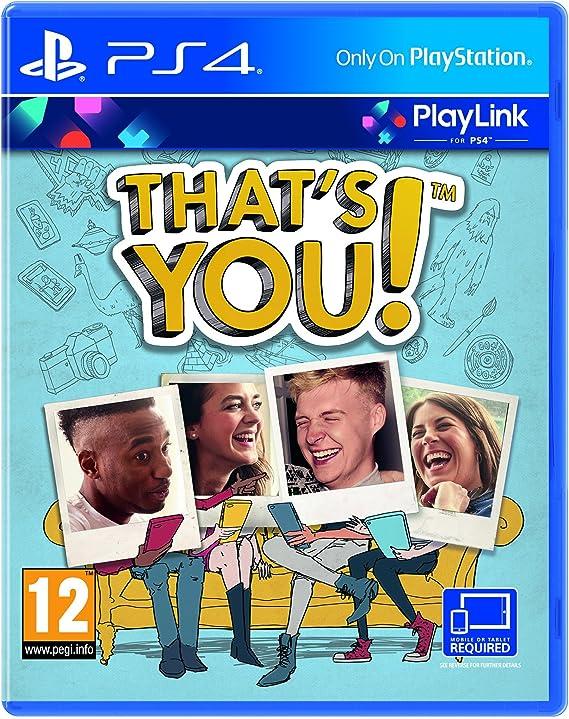Sony Thats You - PlayStation 4 [Importación inglesa]: Amazon.es ...