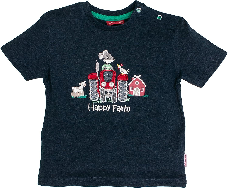 Farm Stick T-Shirt SALT AND PEPPER Baby-Jungen B L
