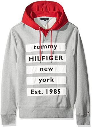 Tommy Hilfiger Sweat Contrast: : Vêtements et