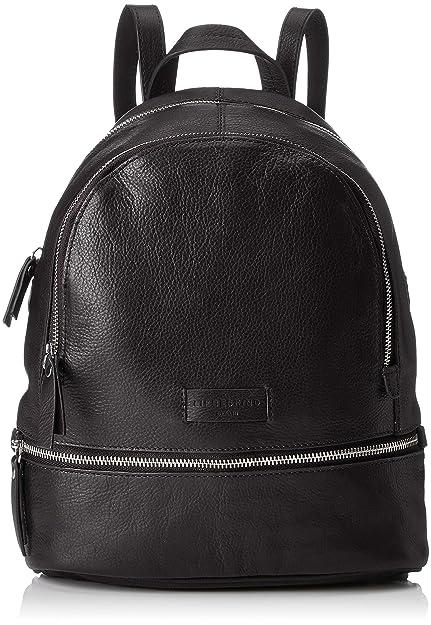 60862e0e7de Liebeskind Berlin Essential Lotta Backpack Small, Women's Handbag, Black,  11x32x26 cm (B