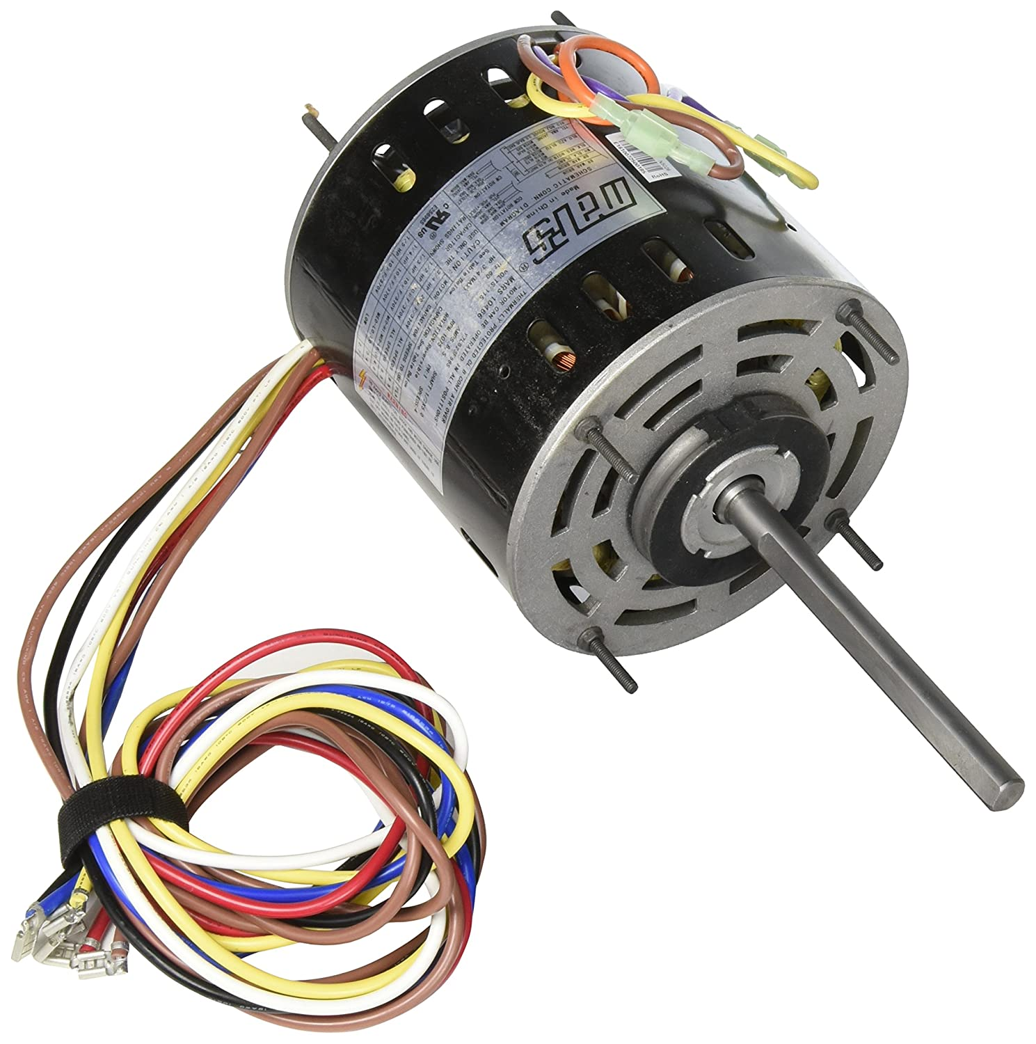 Mars Motor 10463 Wiring Diagram Block And Schematic Diagrams Armature Motors Armatures 10466 1 5 3 4 Multi Hp 115v Direct Drive Rh Amazon Com Century Wire Colors