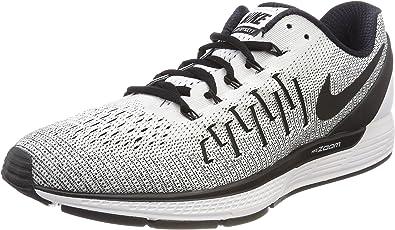 Nike Men's Air Zoom Odyssey 2 WhiteBlack Running Shoe 8 Men