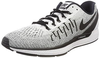 timeless design 02f24 979a5 Nike Men's Air Zoom Odyssey 2 White/Black Running Shoe 9. 5 ...