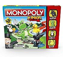 Monopoly C1343102 Junior: Disney Pixar Cars 3 Edition: Amazon.es: Juguetes y juegos