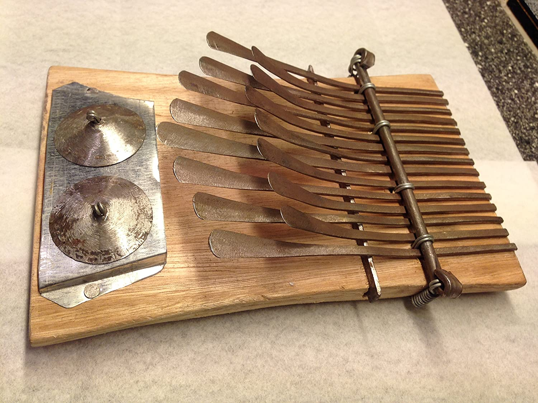 African Kalimba Mbira Thumb Piano Tuned 15 Key Nyunga Nyunga