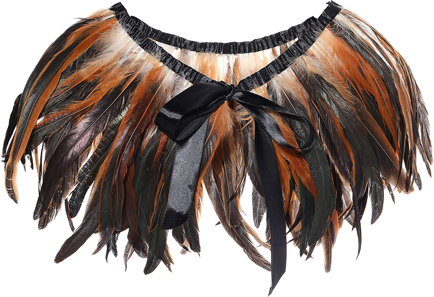 BABEYOND 1920s Feather...