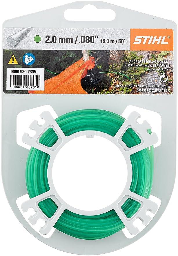 Stihl Strimmer línea verde 2.0 mm: Amazon.es: Bricolaje y herramientas