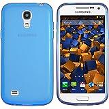 mumbi TPU Hülle für Samsung Galaxy S4 mini Schutzhülle transparent blau