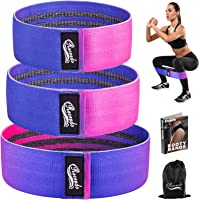Recredo Booty Bands, Non Slip Resistance Bands for Legs and Butt, Workout Bands Exercise Bands Glute Bands for Women, 3…