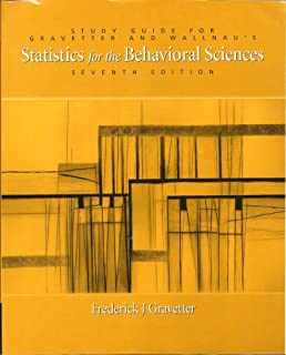 Amazon statistics for the behavioral sciences 9780495095200 study guide for gravetter and wallnaus statistics for the behavioral sciences fandeluxe Gallery
