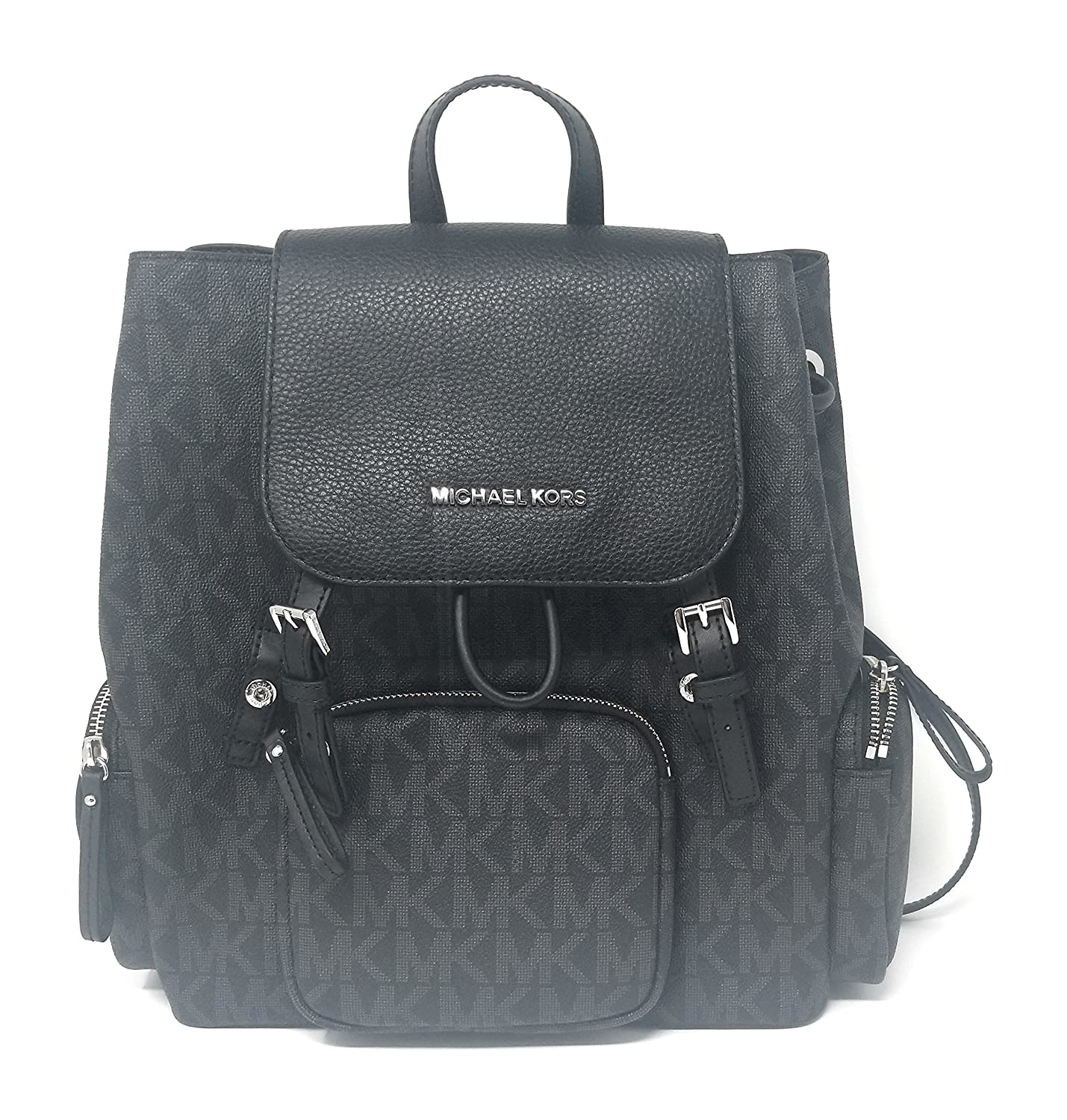 04339b7d27d88 Michael Michael Kors Rhea Leather Large Backpack Black- Fenix ...