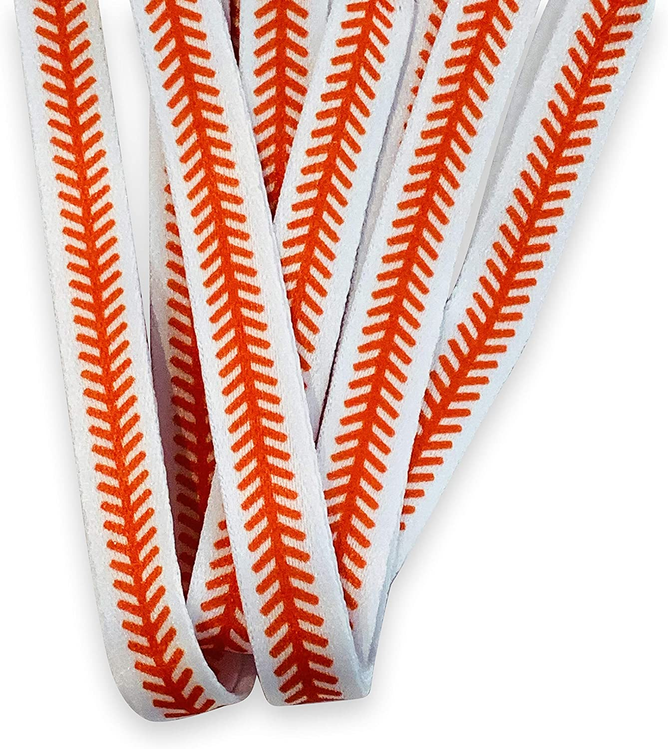 1 Pair Baseball Stitch Pattern Shoelaces