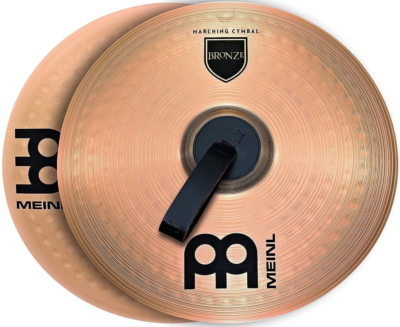 Meinl Cymbals MA-BO-14M Marching Becken Bronze 35,56 cm (14 Zoll), Paar