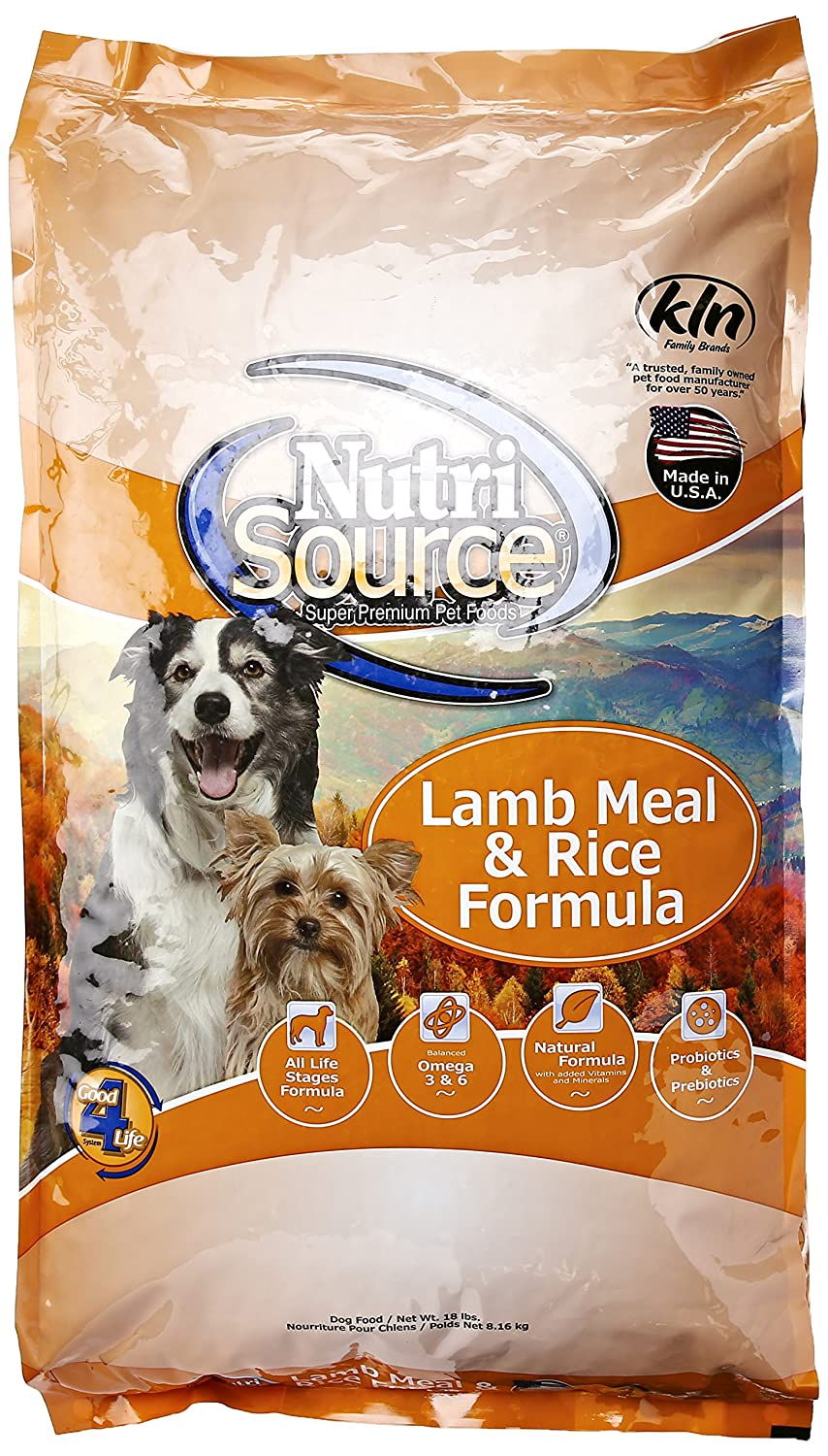 Nutri Fuente Dry Dog Food – Cordero comida & Arroz: Amazon ...