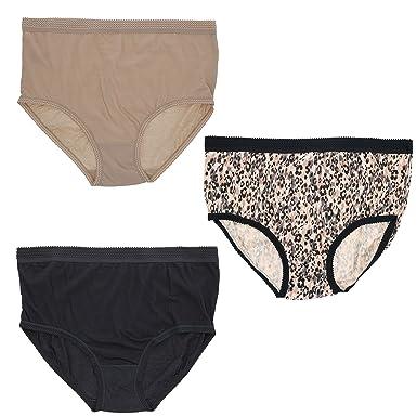 1e9b08b832bd Delta Burke Intimates Women's Plus Size 100% Cotton Briefs (3 PR) (9 ...