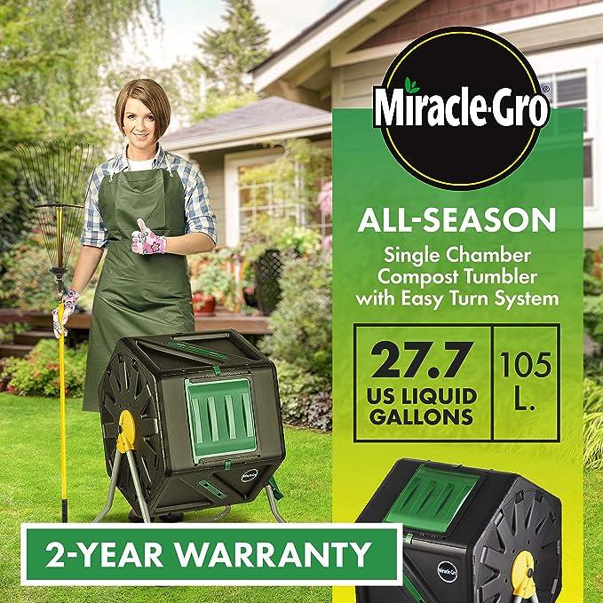 Amazon.com: Miracle-Gro sola cámara al aire última ...