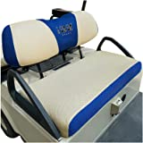 10L0L Golf Cart Seat Cover Set Fit for Club Car DS Precedent & Yamaha, Keep Warm Bench Seat Covers Breathable Washable Polyes