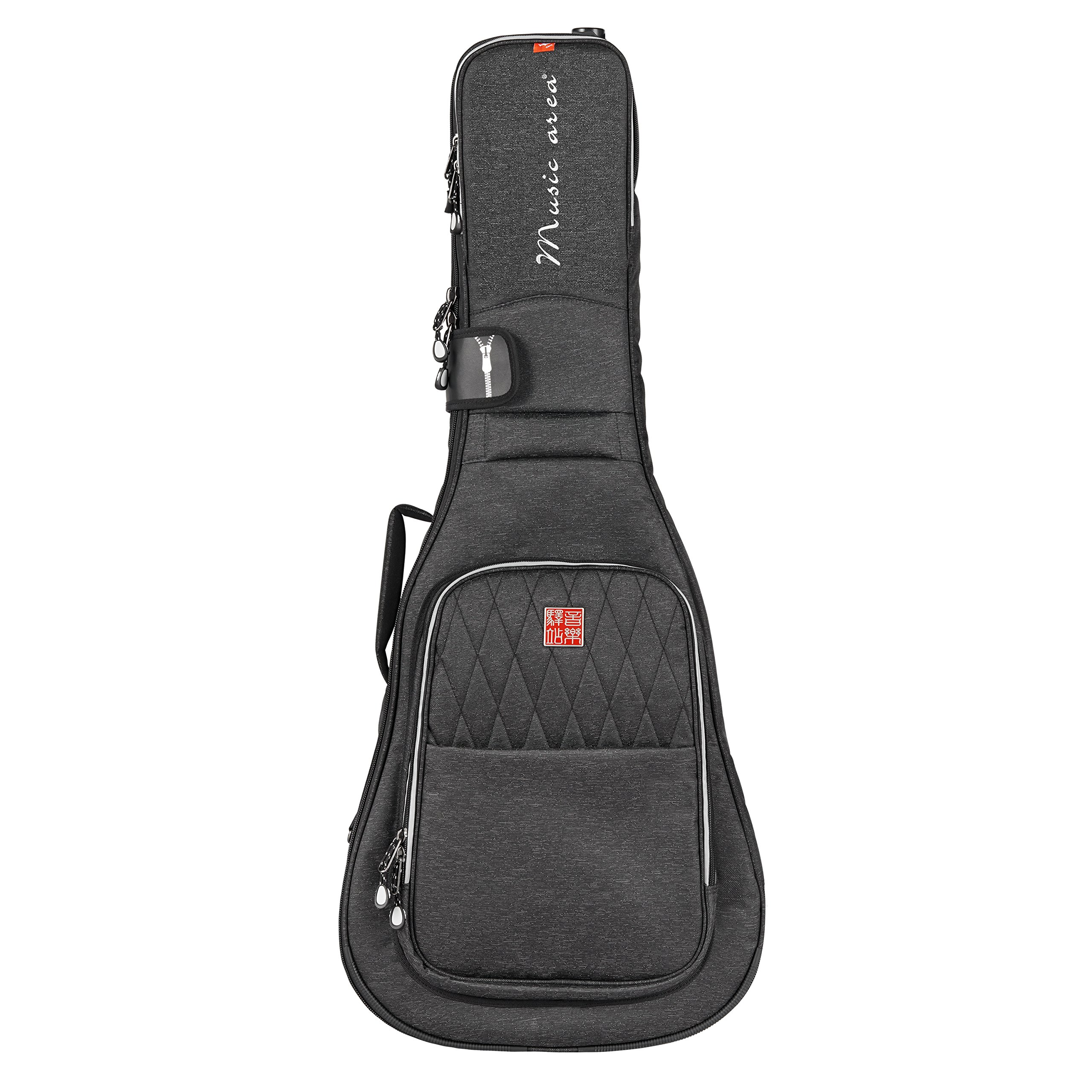 Music Area TANG 30 Series Acoustic Bag - Black (TANG30-DA-BLK) by Music Area