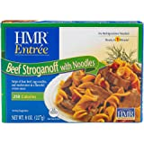 HMR Entree Beef Stroganoff with Noodles, 8 oz. serving (5 Count)